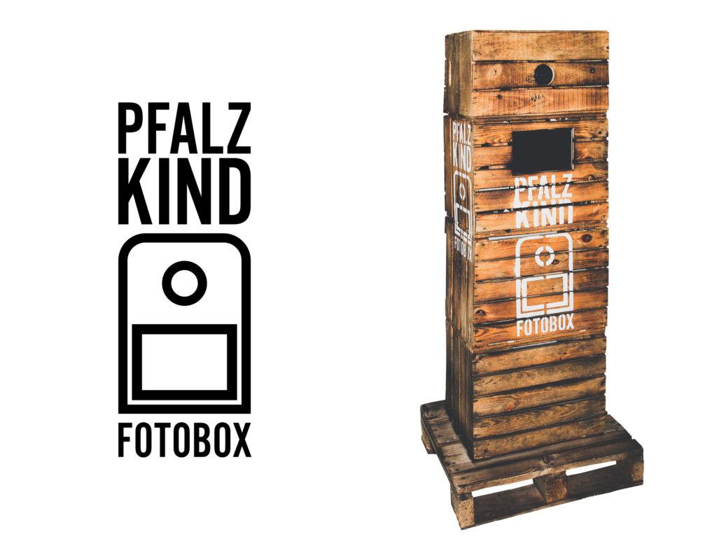Pfalzkind Fotografie – Gestaltung von Logo, Visitenkarten sowie Labeling der Fotobox